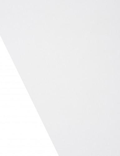 Chemin de table en organza brillant gris-1