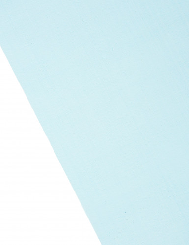 Chemin de table en organza brillant turquoise-1