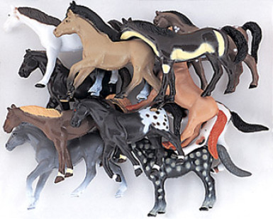 10 Figurines cheval