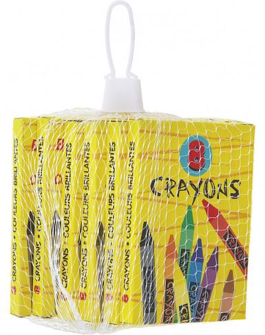 6 Crayons de couleur