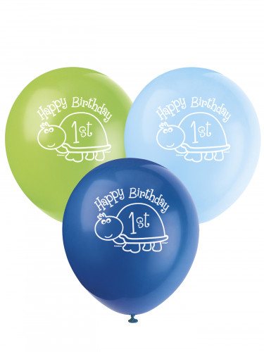 8 Ballons First birthday