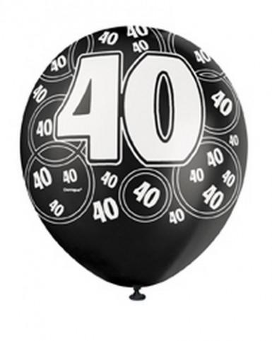 Ballons gris 40 ans-2