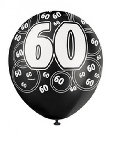 Ballons gris 60 ans-2