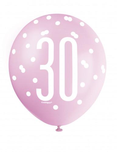Ballons rose 30 ans