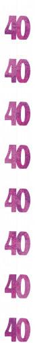 Décoration suspendue Age 40 ans