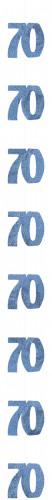 Décoration suspendue Age 70 ans
