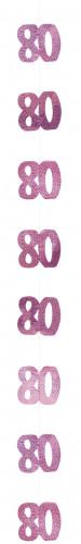 Décoration suspendue Age 80 ans