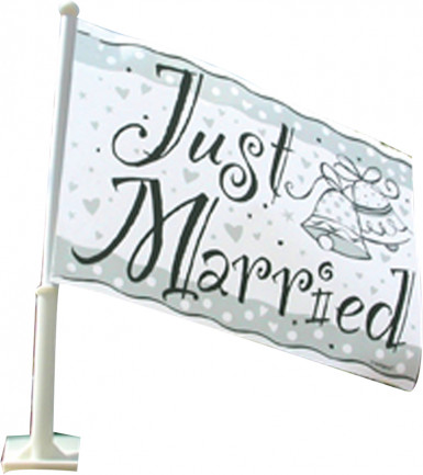 drapeau Just Married
