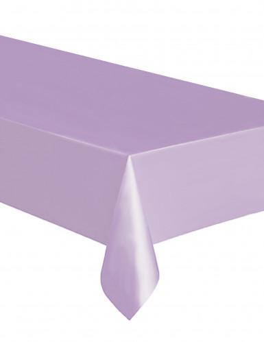 Nappe rectangulaire en plastique lavande 137 x 274 cm