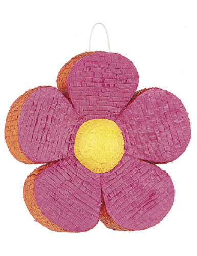 Pinata Fleur rose et orange