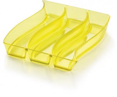 Plateau trio jaune