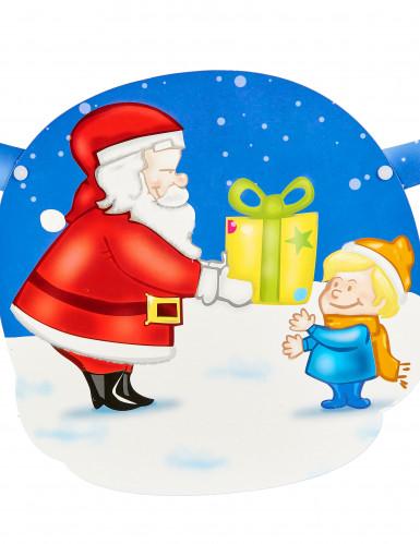 Guirlande Père Noël et cadeau-1