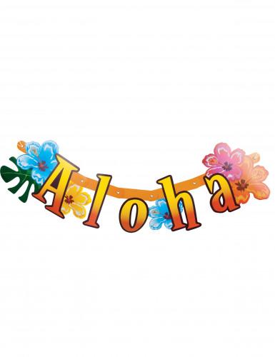 Bannière articulée Aloha Hawaï