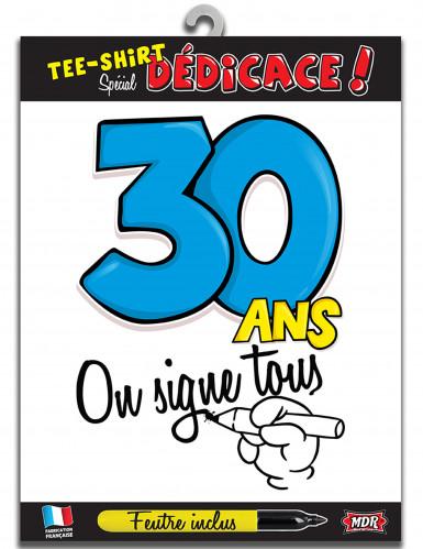 T-shirt Age 30 ans