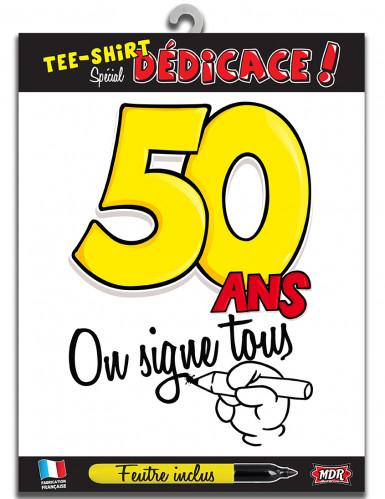 T-shirt Age 50 ans