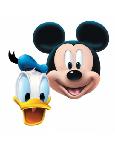 4 masques Mickey Mouse™