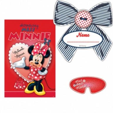 Jeu de fête rouge Minnie™