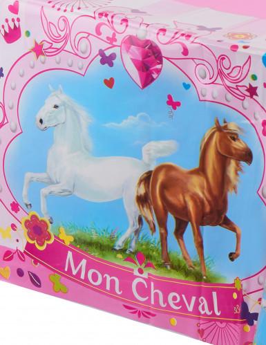 Nappe plastique Mon Cheval-1