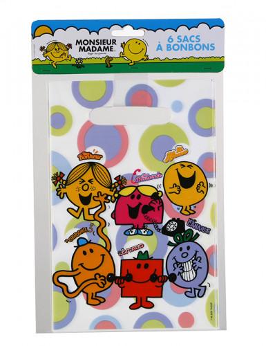 6 sacs à bonbons Monsieur Madame™
