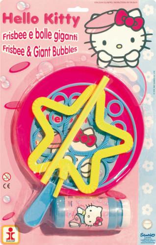 Bulles géantes et Frisbee Hello Kitty™