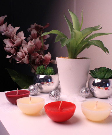 5 Bougies flottantes parfumées-1