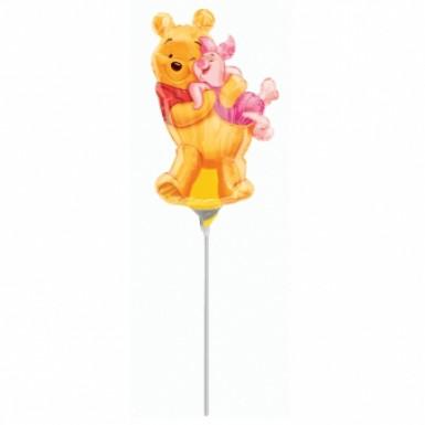 Ballon aluminium petite taille Porcinet™ et Winnie l'Ourson™