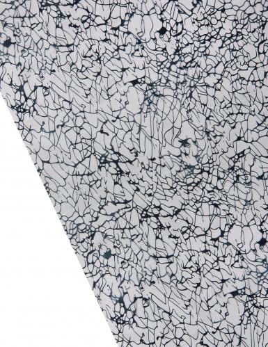 Chemin de table cristaux noir 5 m-1