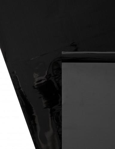 Chemin de table brillant-mat Noir-2