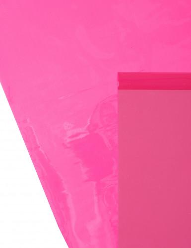 Chemin de table brillant-mat fuchsia 5 m-2