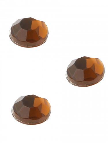 160 Strass autocollant Chocolat-2