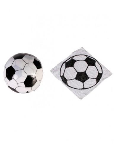 Serviettes en coton magique ballon de foot