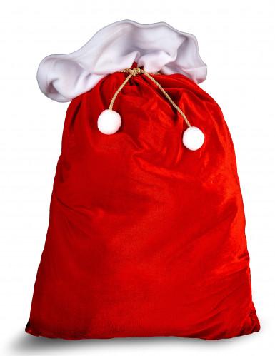 Hotte rouge Père Noël
