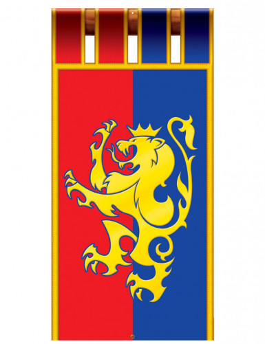 Décoration à suspendre bannière médiévale 180 cm-1
