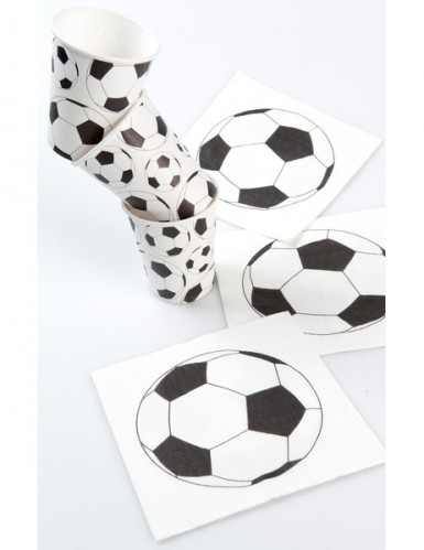 10 gobelets cartons ballon football-1