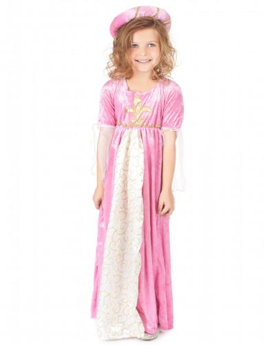 Déguisement princesse médiévale fille-1
