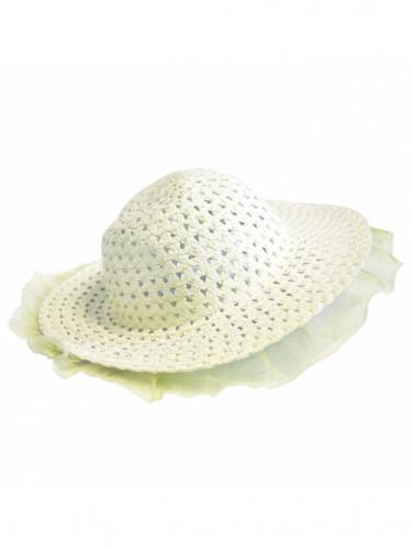 Chapeau de Pâques avec voilage
