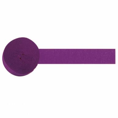 Rouleau papier crépon violet