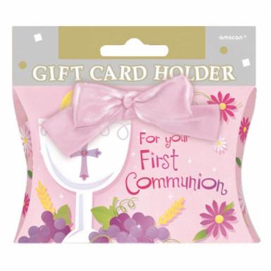 Pochette cadeau communion fille