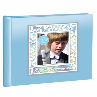 Album souvenir bleu