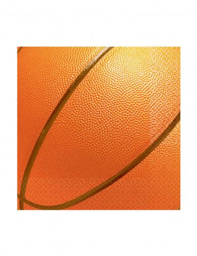 16 Petites Serviettes en papier Basketball 25 x 25 cm