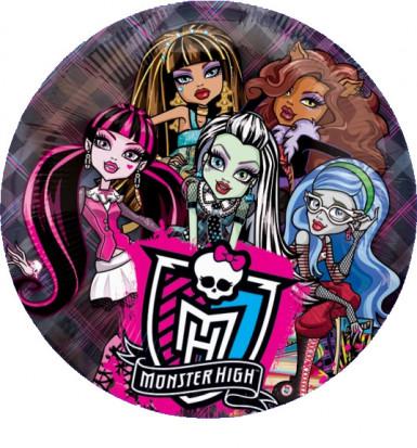 Ballon aluminium Monster High™ 66 cm