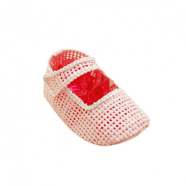 4 Petits chaussons roses