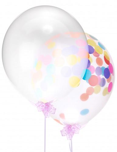 Ballon latex transparent géant 47 cm