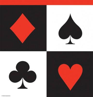 Nappe plastique Casino