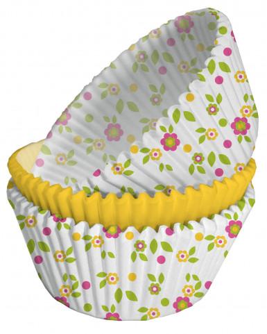 75 moules cupcake papier Petits Hiboux