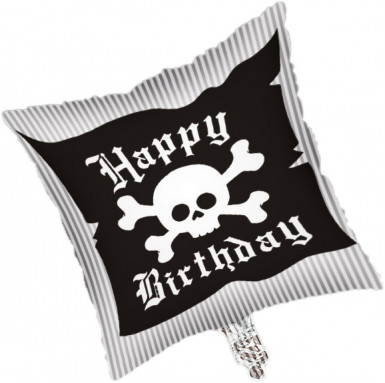 Ballon aluminium Pirate Party