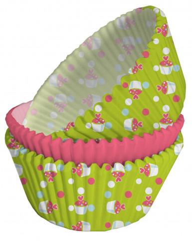 75 moules papier Cupcake Anniversaire