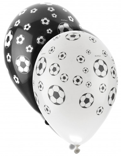 8 Ballons latex Foot
