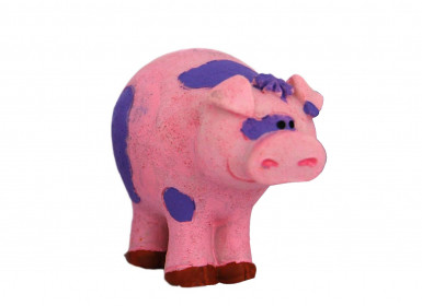 Figurine plastique ferme cochon 5 cm