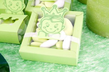 2 boîtes + vignettes carton Prince Vert-1